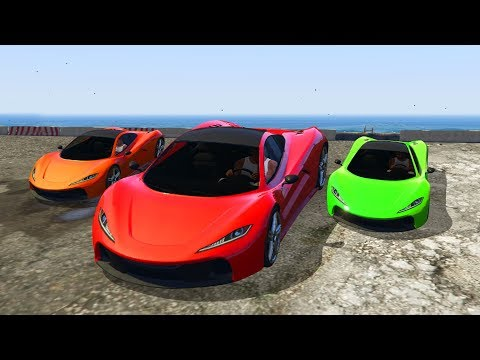 THE MOST POWERFUL RACE!? (GTA 5 Funny Moments)