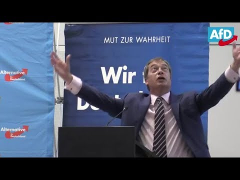 Nigel Farage Speech at AfD w/Q&A - 8th September 2017