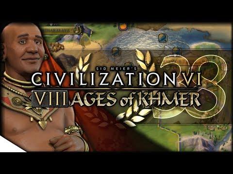 Khmer Eyes German Deployments   Civilization VI — 8 Ages of Khmer 38   Terra Emperor