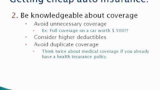 How to find cheap auto insurance online