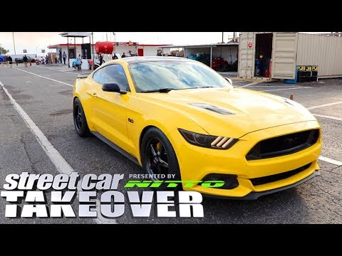 Street Car Takeover - Mustang Drag Racing and More