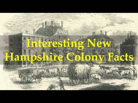 Interesting New Hampshire Colony Facts
