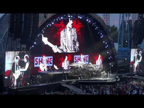 Bon Jovi live at Maksimir stadium (Zagreb, Croatia) HD part 1 (30 minutes)