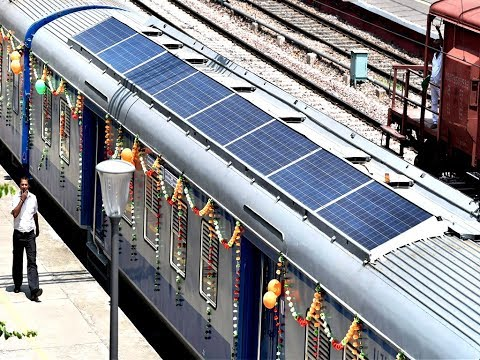 Indian Trains Begin to Solar Power Coaches | BarefootMedia
