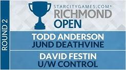 SCGRICH - Round 2 - Todd Anderson vs David Festin [Modern]