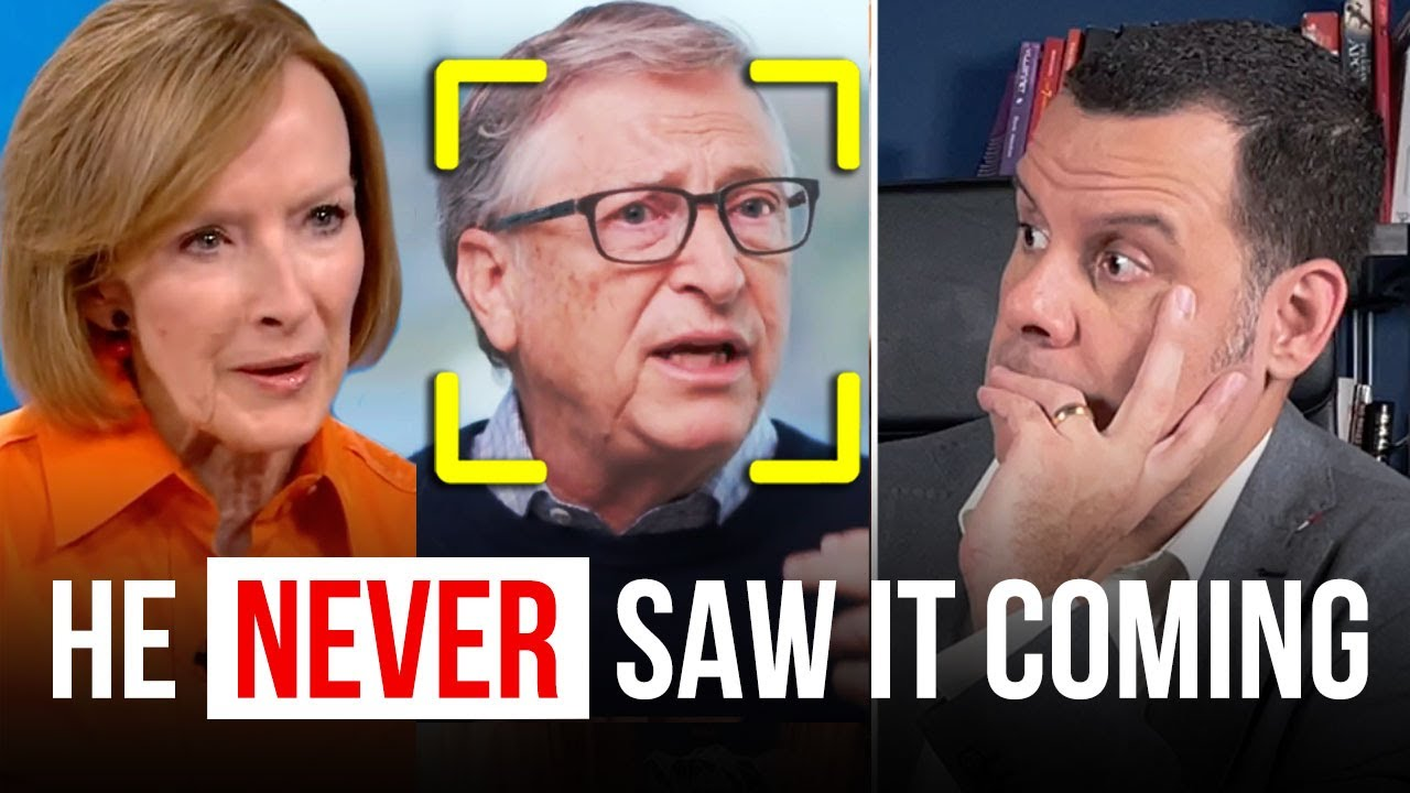 Download Bill Gates BLINDSIDED by Jeffrey Epstein question