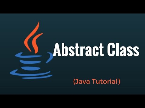 Abstract Class in Java Programming Language: Tutorial 6