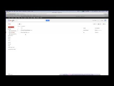 Liberia Media Google Drive Setup