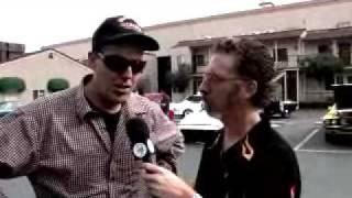 FIREBALL TIM @ The CBS Car Show with Adam Carolla