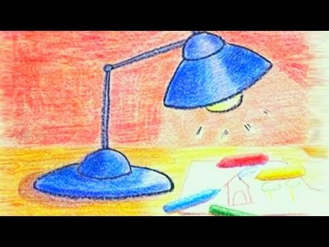 learn-how-to-draw-a-table-lamp---danny-&-daddy