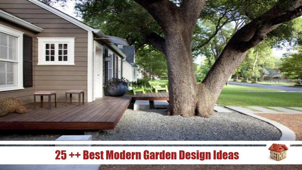 Garden Ideas Videos 25 ++ best modern garden design ideas - [home design videos] - youtube