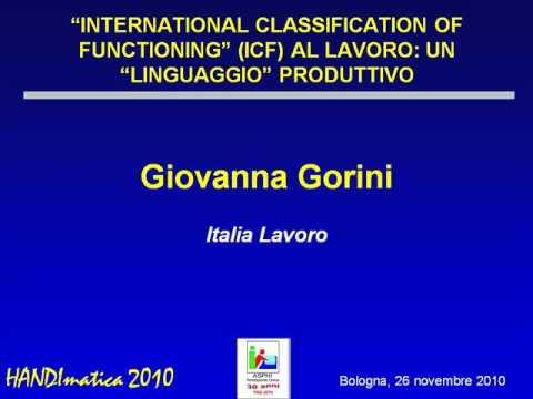 "HANDIMATICA 2010 - ""International Classification of Functioning"" al lavoro [1/2]"
