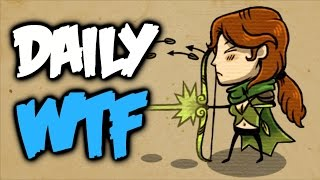 Dota 2 Daily WTF - My quiver is full!