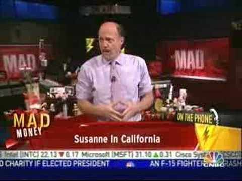 Cramer gets sweet talked!