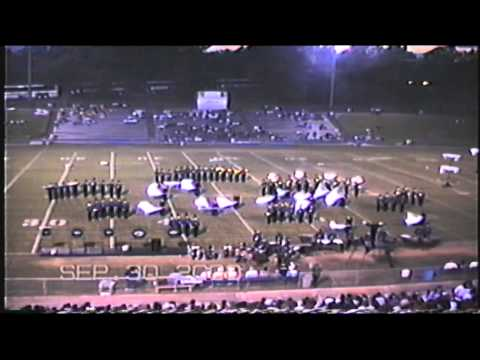 Golden Regiment 2000 Sailor & Whales James F. Byrnes Travelers Rest High School