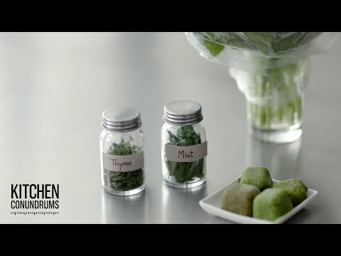 Preserving Herbs in 3 Ways - Kitchen Conundrums with Thomas Joseph