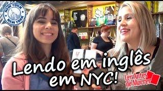 lendo livros em ingls em nyc