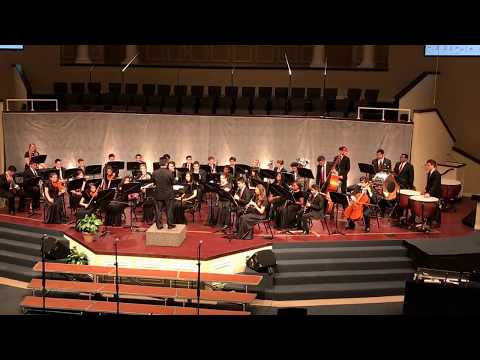 """Appalachian Legacy"" performed by the Advanced Band of Raleigh Christian Academy-Yoshi Nakamura, Dir"