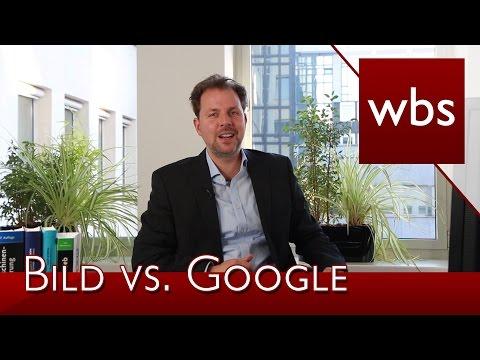 Warum die Bild-Zeitung doch wieder in Google News zu finden ist | Rechtsanwalt Christian Solmecke