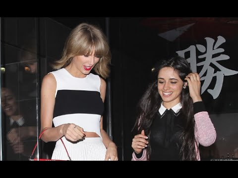 SPOTTED: Taylor Swift & Camila Cabello - Sushi Date In Hollywood! (VIDEO)