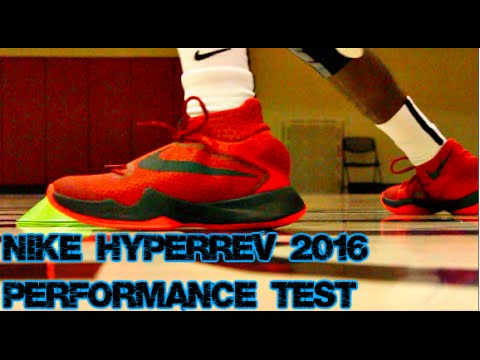 official photos 4b3da dd953 Nike Zoom HyperRev 2016 Performance Test - YouTube