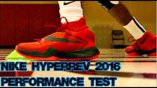 Nike Zoom HyperRev 2016 Performance Test
