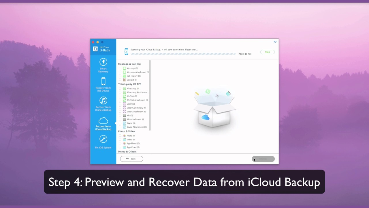 How to Download iCloud Backup to PC