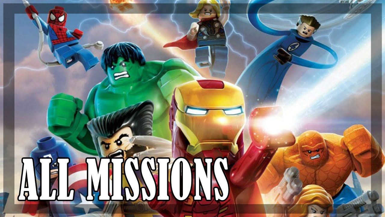 Lego Marvel Super Heroes All Missions Full Game Youtube