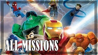 Lego Marvel Super Heroes - All Missions | Full game