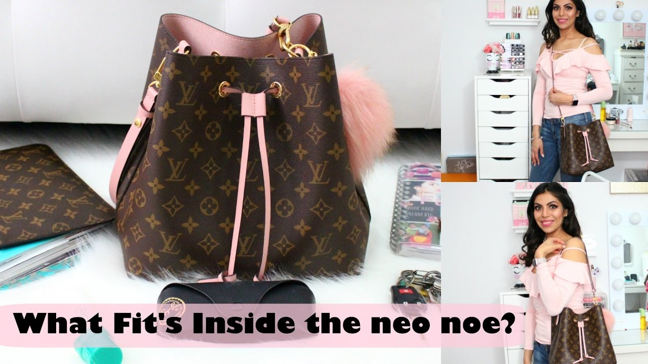 6245d29f701 What Fits Inside The Louis Vuitton Neo Noe Should You Get It  Full Review    FABIOLAG