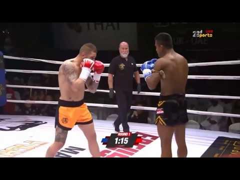 Risco VS Buakaw (Buakaw met his match?)