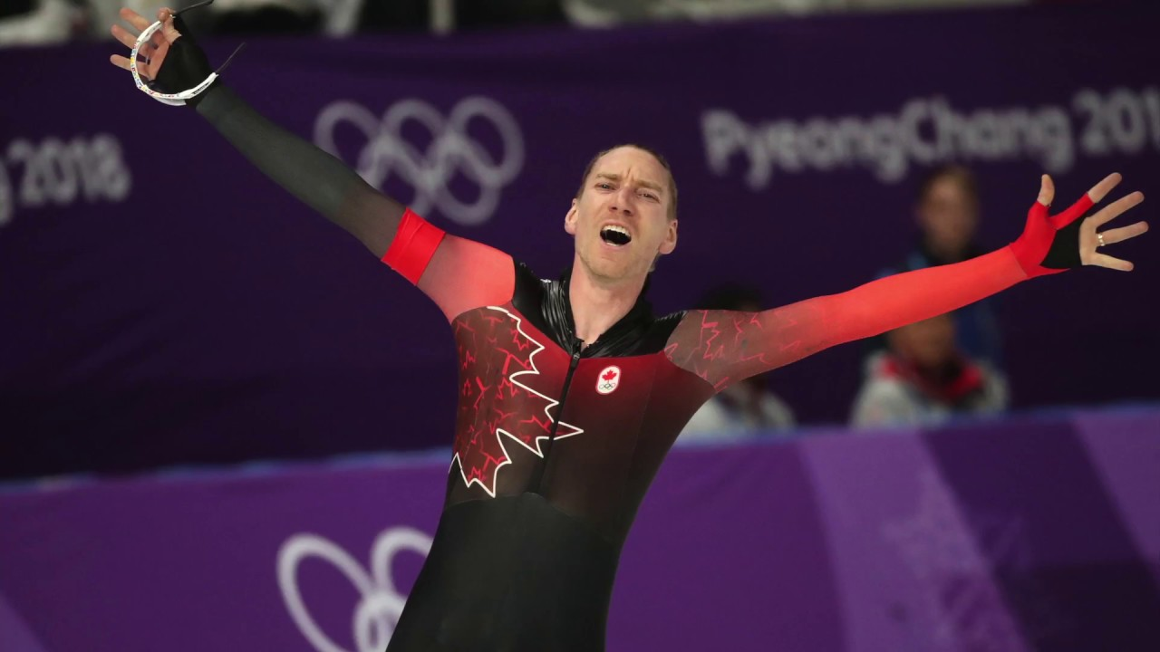 Canadian Olympic gold medalist Ted-Jan Bloemen