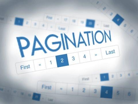 Cara Membuat Pagination Php Mysqli