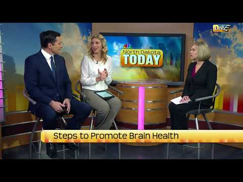 North Dakota Today Steps to Promote Brain Health Part Two