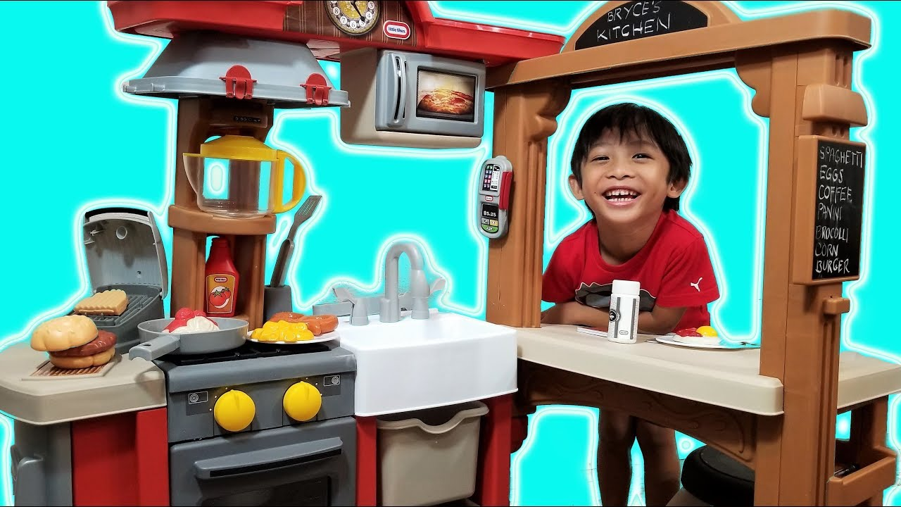 Play Kitchen And Restaurant Playset From Little Tikes