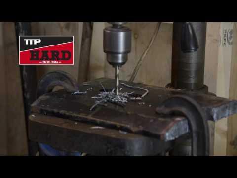 Drilling Hard Steel