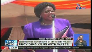 County government of Kilifi embarks on a boreholes project