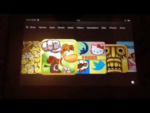 Top 10 Free Games On The Amazon Kindle Fire HD
