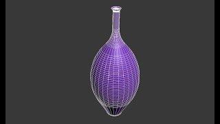 Делаем вазу в 3D Max