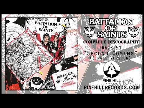"Battalion Of Saints - ""Second Coming (Single Version)"" [Official Audio]"