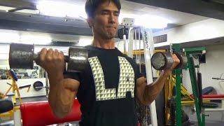 上腕二頭筋のトレーニング動画!ダンベル種目のポイントを解説 thumbnail