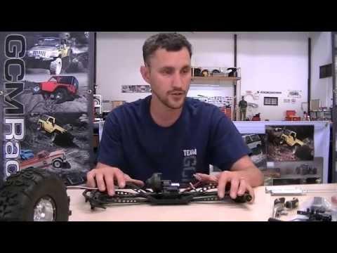 MattZilla U4 Build Series Part 2-Diamond Wraith Rear Axle