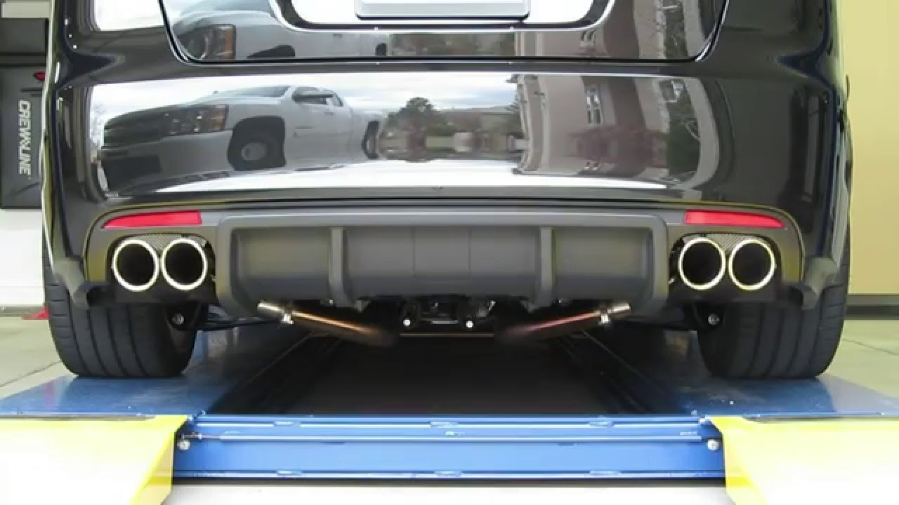 Big Tips Quad 3 1 2x18 Ss Exhaust Tips On A 2009 G8 Gxp Youtube