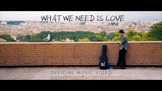 Roaman - What we need is Love (Official Music Video)