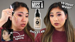 2 Day Wear on Shop Miss A AOA Drop Liquid Foundation for Oily  Acne Skin