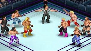 Fire Pro Wrestling Returns - WWF Legends vs. WCW Legends