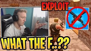 Tfue's Instant Pump Exploit NOT Working Anymore! - Fortnite Best and Funny Moments