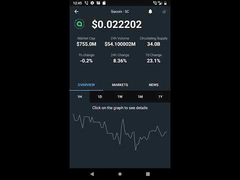 Cryptocurrencies Live Market APP