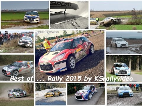 Best Of ... Rally 2015 By KSrallyvideo [HD] CRASH & SHOW