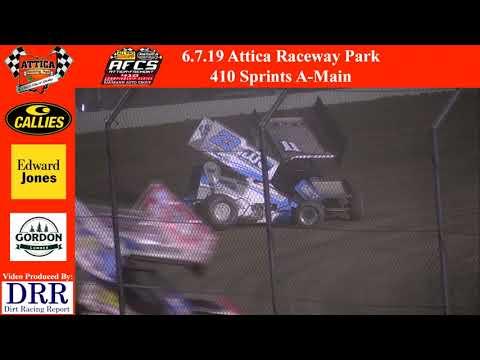 6.7.19 Attica Raceway Park 410 Sprints A-Main